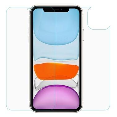 Microsonic Apple iPhone 11 (6.1'') Ön + Arka Nano Cam Ekran Koruyucu Renksiz